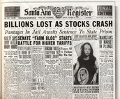 Newspaper of The Great Depression