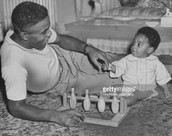 Where was Jackie Robinson born and when?