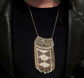 Avalon Fringe Necklace, was £60, my sample sale price £30
