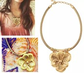 Bloom Statement Necklace Reg $89 -25% sale $67