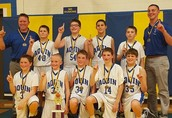 6th Grade Boys Immanuel Lutheran Tourney Champions