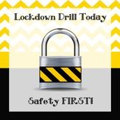 Practice Lockdown Drill This Week