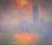 Le Parlament. Claude Monet