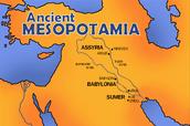 What is Mesopotamia?