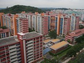 Picture of a HDB in the present.