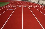 Walking the track
