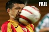 You just got a face full of ball