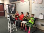 Our own band concert!