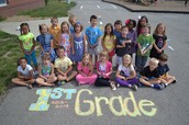 Our first week in First Grade!