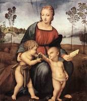 La Virgen del jilguero (1506)