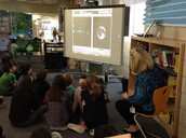 Videoconference with NASA