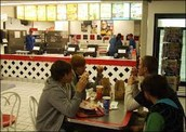 Customers enjoying a meal at Dairy Queen