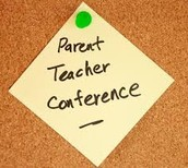 Parent Conference reminders