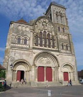 Avant de Madeleine de Vézelay