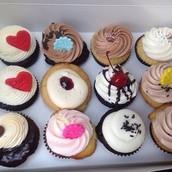 Delecious cupcakes