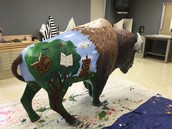Buford the Bicentential Bison.