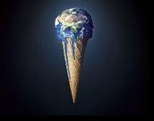 de aarde is aan het smelten