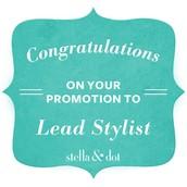 Lead Stylist Promotion!!