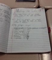 Awesome job Science notebooking