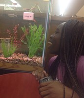 The fish are a heterotroph they can't make their own food