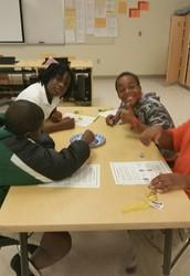 Dreidel Activity in M. DiPalma's class