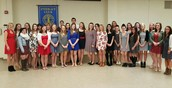 French Honor Society Inductees