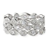 Stackable Deco Rings - Size 9