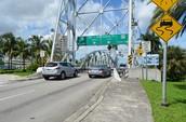 Parker Vertical Lift Bridge Traffic to Major Highways
