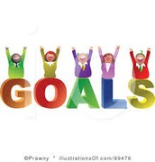 SCHOOL GOALS - What will you do BEFORE MAY to get our students there?