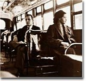 Rosa Parks on the Cleveland Avenue Bus