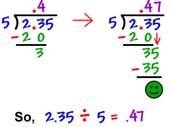 Dividing Decimals!