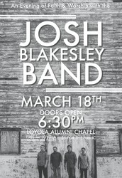 An Evening of Faith & Worship with the Josh Blakesley Band