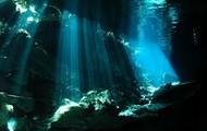 Diving.