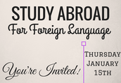 Study Abroad for Foreign Languages