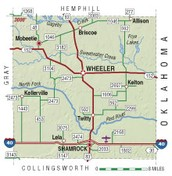 Wheeler County map!!!