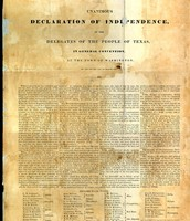 1836- Texas independence