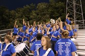 2014 ILHS Varsity Football 8th Grade Band Night - 9/26/14