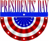 Presidents' Day Holidays