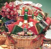 Canastas de Navidad para Auxiliares del Colegio