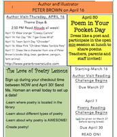 Check out April Library Events!