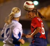 Brandi Chastain is a soccer player