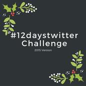 #12daystwitter Challenge