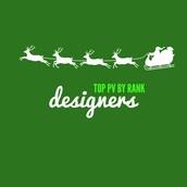 Top Sales by Rank - Designers
