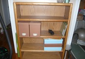 Wood Bookcase -- $50