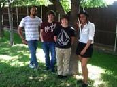Malcolm, Zach, Daryn, & Jessica