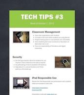 1:1 iPad Reminders