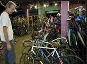 Bikes donated