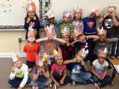 Mrs. Trout's kindergarten class