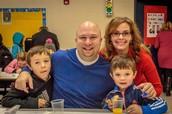Mr. and Mrs. Fuller, Logan and Wyatt