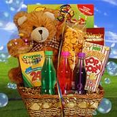 Bear in a Basket